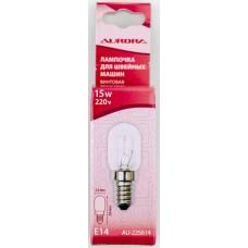Лампочка Aurora для швейной машины винтовая 15W AU-225614