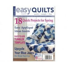 Журнал Easy Quilts весна 2014