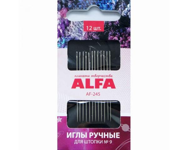 Иглы ALFA для штопки № 9 AF-245