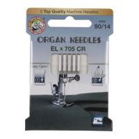 Иглы Organ для распошивальных машин № 90 5 шт. EL705-90 ECO