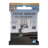 Иглы Organ для распошивальных машин № 90 5 шт. EL705-90 SUK ECO