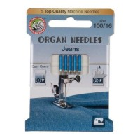 Иглы Organ джинс № 100 5 шт. 130/705.100.5.H-J ECO