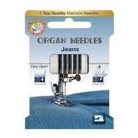 Иглы Organ джинс № 90-100 5 шт. 130/705.90-100.5.H-J ECO
