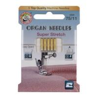 Иглы Organ Super Stretch № 75 5 шт. 130/705.75.5.HAx1SP ECO