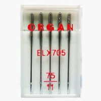 Иглы Organ для распошивальных машин № 75 5 шт. EL705-75