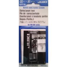 Лапка Juki для пришивания бисера, пайеток по кривой (А9511-634-ОАОА)