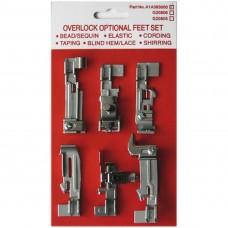 Набор лапок Merrylock для 4-х ниточных оверлоков A1A393A