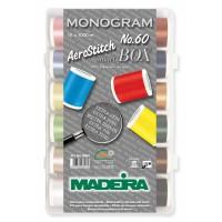 Набор ниток MADEIRA Aerostitch 18 x 1000 м 8064
