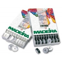 Нить нижняя MADEIRA для машинной вышивки в шпулях 1 шт 9766 белая