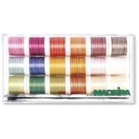 Набор ниток MADEIRA Cotona 50 Multicolor 18 x 200 м 8035