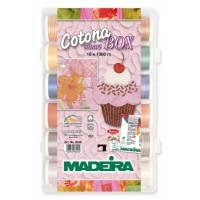 Набор ниток MADEIRA Cotona 18 x 1000 м 8036