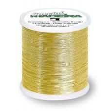 Нитки MADEIRA GoldenSilver для отделки и вышивки благородные 100 м 9664G золото