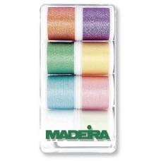 Набор ниток MADEIRA Metallic Opal 8 x 200 м 8010