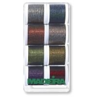 Набор ниток MADEIRA Metallic Soft 8 x 200 м 8011