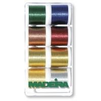Набор ниток MADEIRA Metallic Classic 8 x 200 м 8012