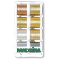 Набор ниток MADEIRA Metallic Heavy Metal 8 x 200 м 8014