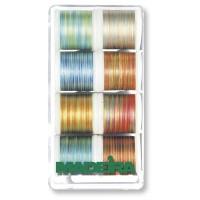 Набор ниток MADEIRA Polyneon Multicolor 8 x 200 м 8015