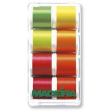 Набор ниток MADEIRA Polyneon Neon 8 x 200 м 8018