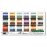 Набор ниток MADEIRA Polyneon Multicolor 18 x 200 м 8046