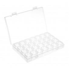 Пластиковая коробка для 25 шпулек BB-25-N