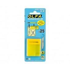 Лезвие OLFA сменное перо 6 мм 25 шт OL-KB