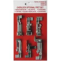 Набор лапок для Merrylock 001|003|004|005|006|008A|013 (4-х ниток)