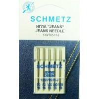 Иглы Schmetz для джинсы № 90-110 5шт.