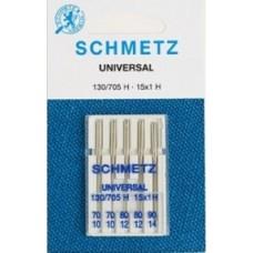 Иглы Schmetz универсальные № 70-90 5шт.