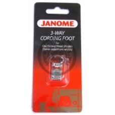 Лапка Janome для пришивания 3-х шнуров арт. 200345006