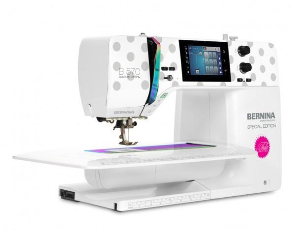 Bernina B570 QE SE Tula Pink с вышивальным модулем